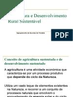Agricultura e Desenvolvimento Rural Sustentável 1