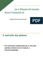 Nutrientes das plantas