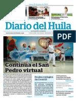 22 de Junio Diario del Huila