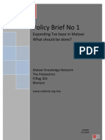 MAKNET Policy Brief No 1