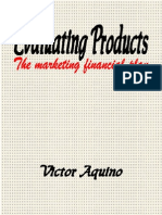 EVALUATING PRODUCTS