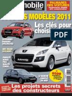 La Revue Automobile Dec 2011