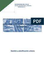 GESTIÓN Y PLANIFICACIÓN URBANA INTEGRAL-MODELO