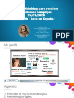 Presentacion webinar Design thinking