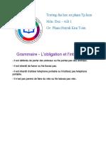 k4501703013-Nguyễn Hồng Phúc-spp-Grammaire - L'obligation et l'interdiction