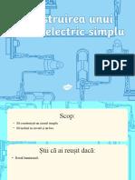 Construirea unui circuit electric simplu - Prezentare PowerPoint