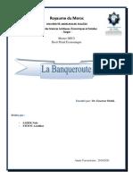 banqueroute - (S2 Master DECI )