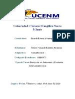 Ensayo de la Antecedentes y Evolucion de la Mercadotecnia- Nelson Bautista 118140071.docx