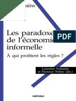 Karthala - Le Paradoxe de l'Économie Informelle