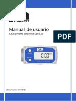 Serie AE - Manual de usuario