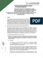 REPORTE DE AVANCE ANTES SITUACIONES ADVERSAS - VIRGEN DE FATIMA