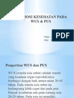 PROMOSI KESEHATAN PADA WUS & PUS