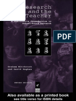Research and Teacher