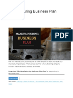 Manufacturing Business Plan.docx