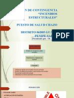 Plan de contingencia incendios estructurales