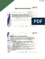 Topic 8.2 - Modulation  Demodulation