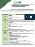 Calendário Avaliação Parcial - 1ª série EM - 2º bimestre (2)