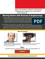Moving Online with Success in Engineering_18th June