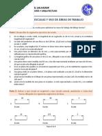GUIA I - FORMATOS - ESCALAS Y USO DE AREAS DE TRABAJO
