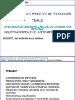 TEMA 21 Operacines unitarias de la industria Regional-Aserrado de Madera
