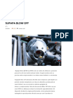 Supapa Blow Off – Autotehnica