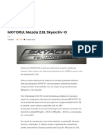 MOTORUL Mazda 2.0L Skyactiv-G – AutoTehnica