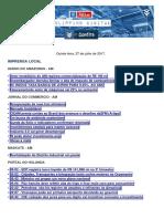 Clipping Diário FIEAM 27072017.pdf