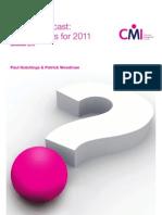CMI Future Forecast December 2010