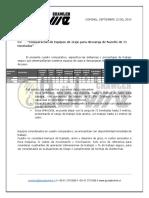 Cuadro Comparativo y Especificacion de equipos