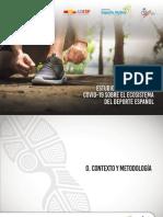 DEPORTE ESPAÑOL Y CORONAVIRUS. Estudio Impacto COVID 19 Sobre Ecosistema Deporte Español Por CSD