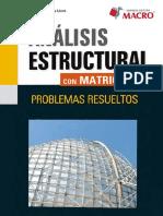 ANALISIS ESTRUCTURAL MATRICES
