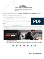 Tutorial_Cuenta de Microsoft_ITSI_2020