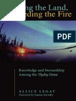 Walking the Land, Feeding the Fire. Allice Legat PDF