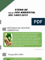 05 Sistema de Gestión Ambiental - 14001