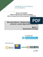 serveis bàsics i desenvolupament en entorns rurals