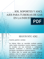 GANCHOS, SOPORTES Y ANCLAJES PARA TUBERIAS DE