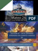 siete grandes verdades en cuanto a Mateo 24