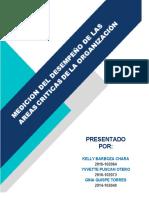 MEDICION DEL DESEMPEÑO DE AREAS CRITICAS DE LA EMPRESA- BELCORP