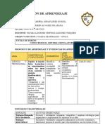 FÁTIMA SÁNCHEZ- 19 DE MAYO-CIENCIA Y T- SESIÓN DE APRENDIZAJE