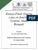 Ensayo final de Centroamérica