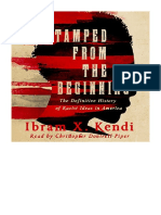 [2017] Stamped from the Beginning by Ibram X. Kendi | The Definitive History of Racist Ideas in America | Novel Audio