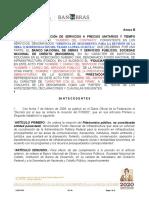 Anexo B Modelo de Contrato G.P. obras Proy i y ii