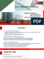 Cuarto Taller Ayala, Caceres, Carrasco