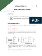 circuitos informe Thevenin y Norton 1