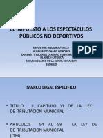 elimpuestoalosespectculospblicosnodeportivos-120326132628-phpapp02