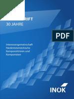 Festschrift 30 Jahre INÖK (Auszug)