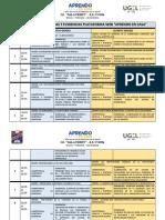 CARTEL DE COMPETENCIAS - DPCC (4° y 5) - APRENDO EN CASA WEB
