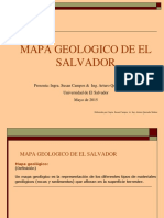 Mapa Geológico de El Salvador