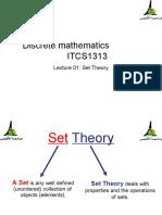 الاولdiscrete math lecture 01