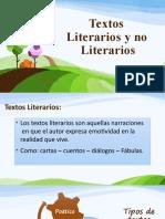 Texto Literario y No literarios